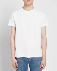 Two-Pack Plain Tee - White