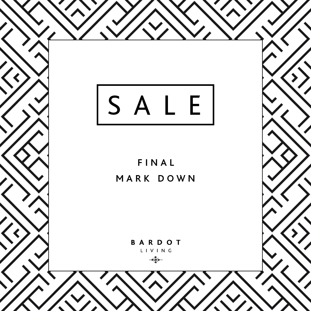 FINAL MARK DOWN- UP TO 50% OFF!