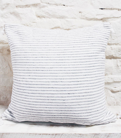 Breton Cushion - Grey