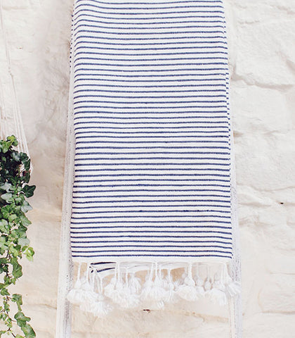 Breton Throw - Blue