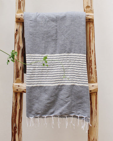 FREYA TOWEL - DENIM