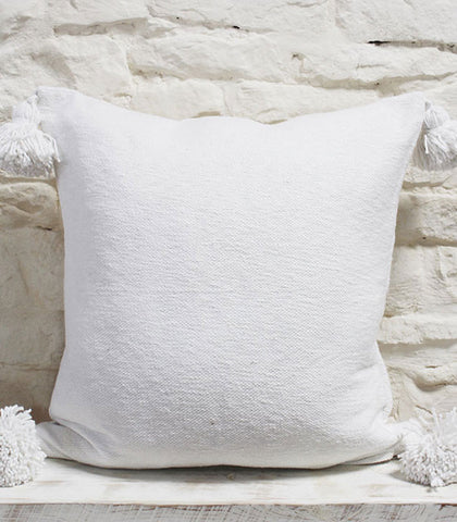 Margot Cushion - White