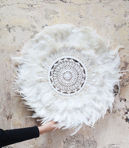 Ophelia Feather Wall Hanging