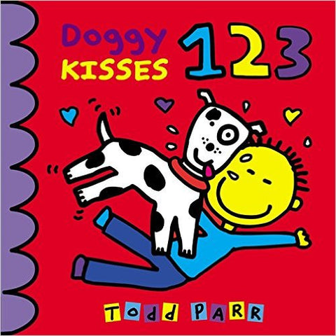 Doggy Kisses 123 Board Book