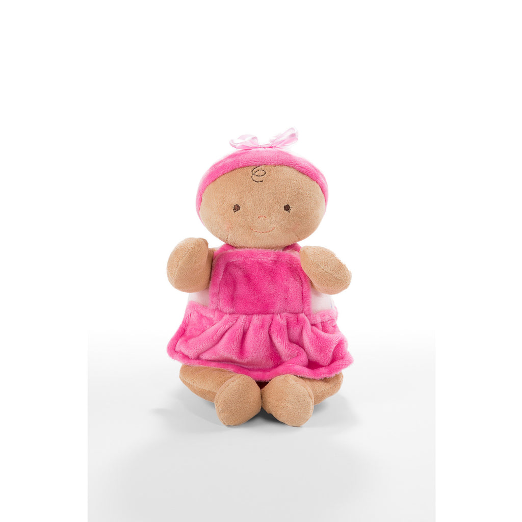 Rosy Cheeks™ Baby Girl Ruffles Tan 10""
