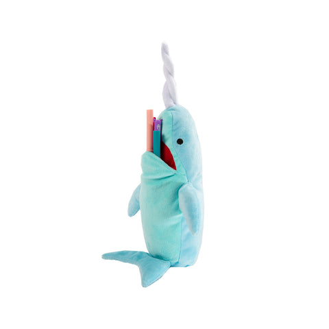 Big Mouth Narwhal Whale 10""