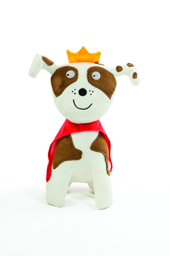 Todd Parr™ Tan & White Dog 10""