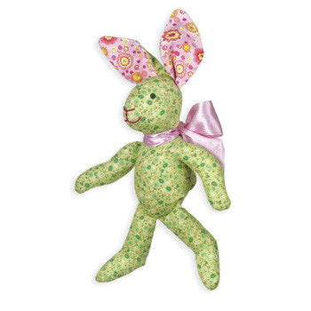 Calico Cottontail™ Green Bunny