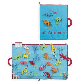 ABC of Animals Activity Mat