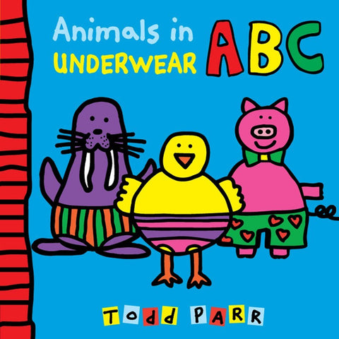 Animals in Underwear ABC Board Book