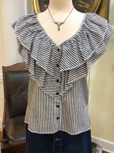Load image into Gallery viewer, Ruffle Top by Romeo & Juliet Couture
