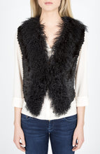 Load image into Gallery viewer, Mongolian Lamb & Rabbit Fur Vest/Gilet  (Dyed)