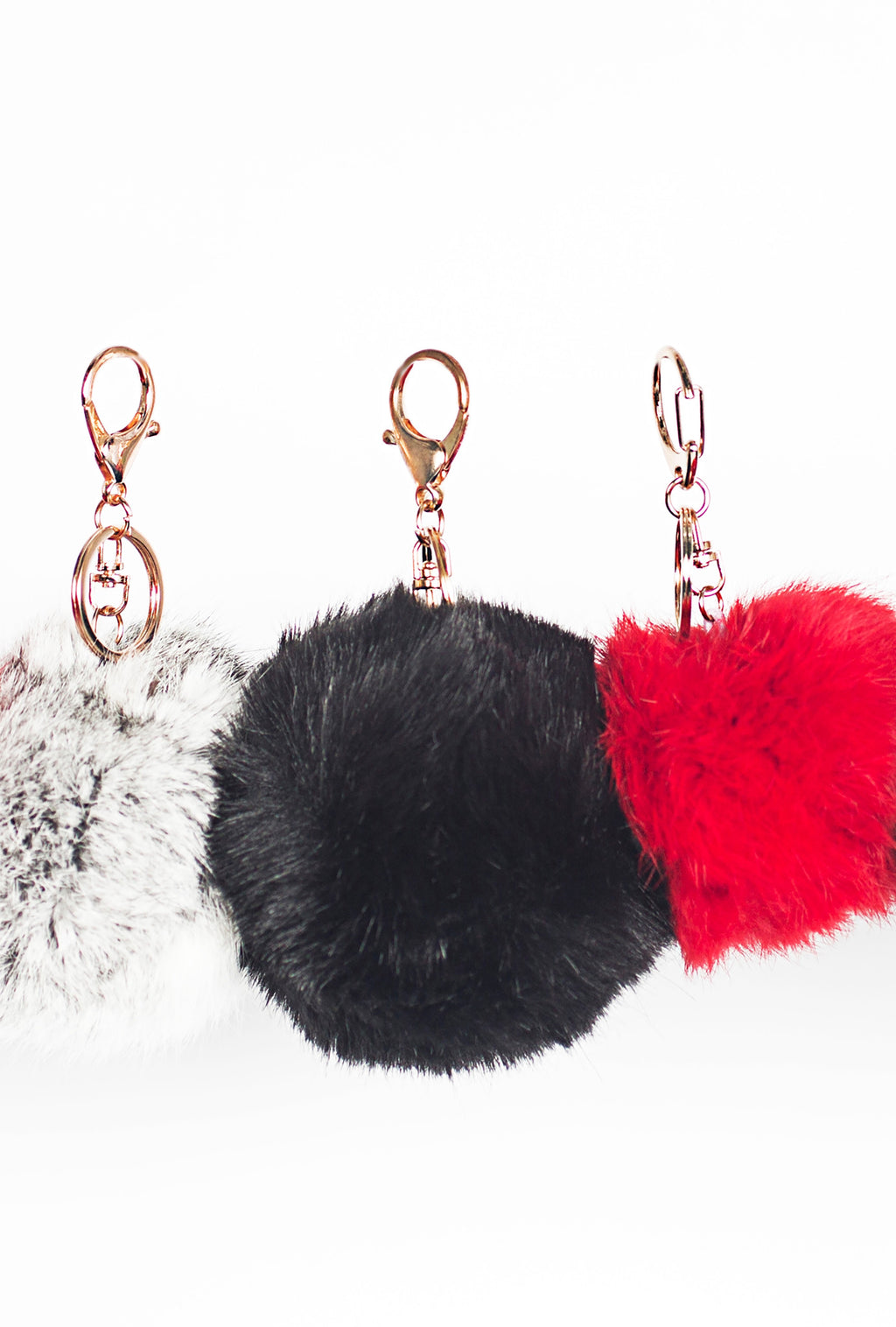 Fur Key Chains/Purse Charms