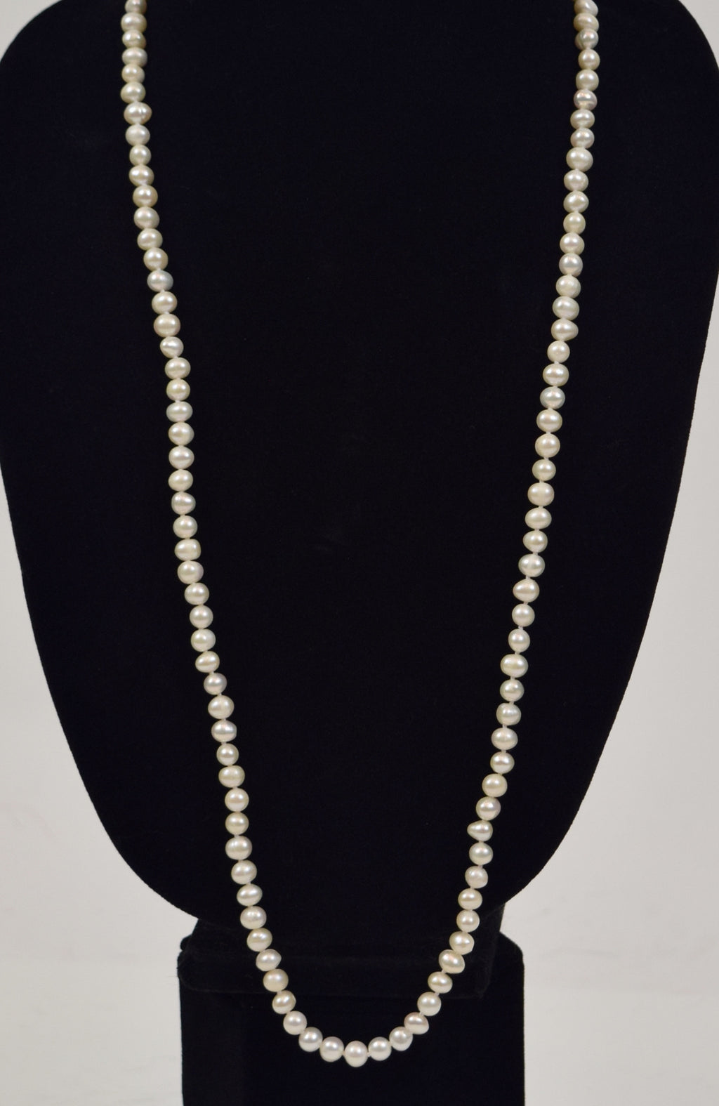 Genuine Pearl Necklace (6-8mm) (AA-Pearls)