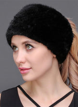 Load image into Gallery viewer, Mink Headband (knitted)