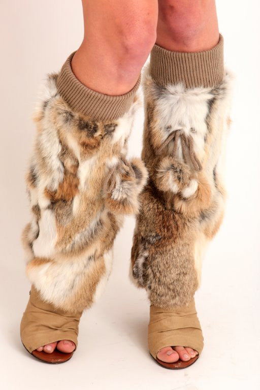 Rabbit Leg Warmers