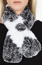 Load image into Gallery viewer, Chinchilla Rex Fur Scarf