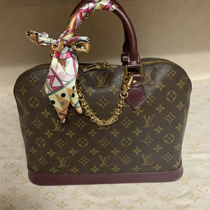 Authentic Louis Vuitton Modern Alma Bag (Preowned)