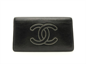 Authentic Chanel Lambskin Wallet (Preowned)