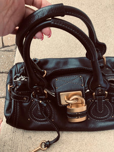 Authentic Chloe' Paddington Leather Handbag (preowned)