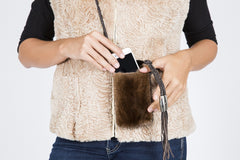 Mink Cross Body Bag