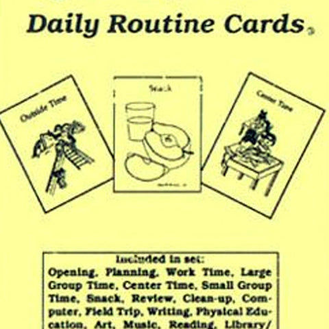 Daily Routine Cards