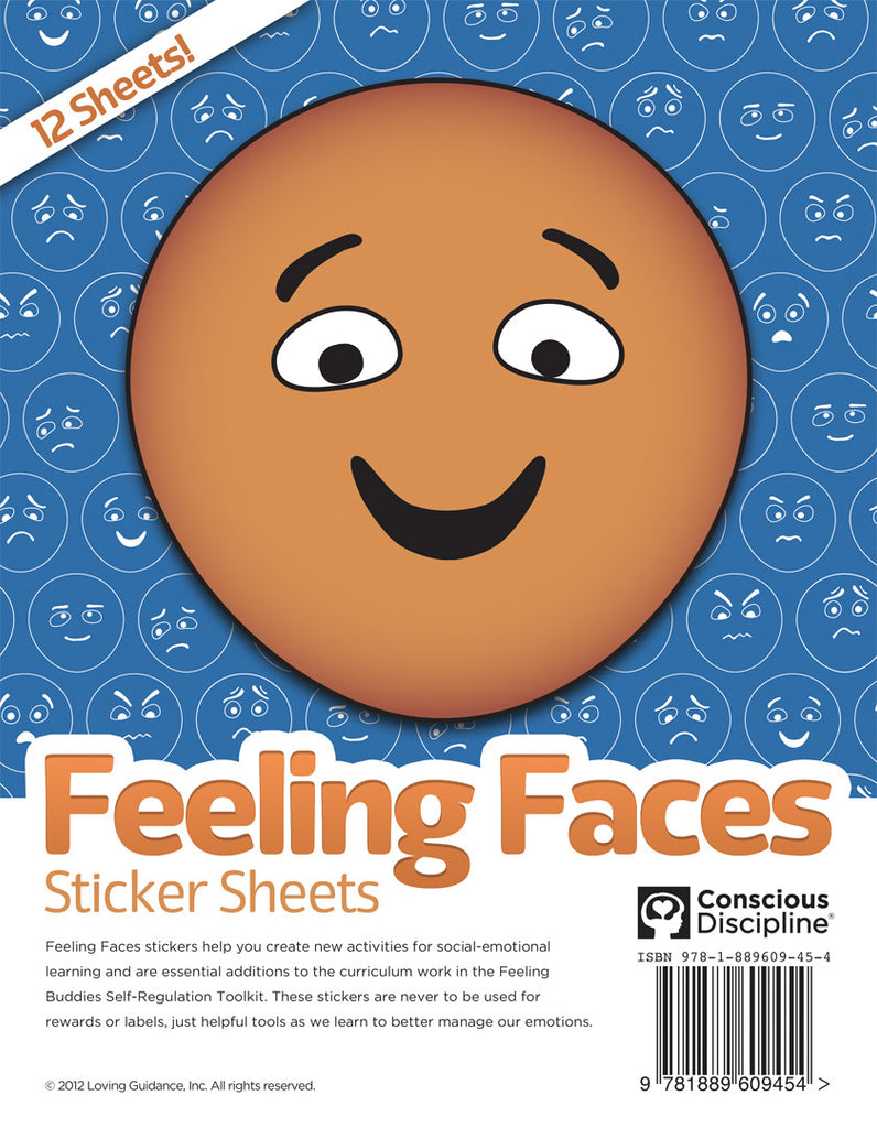 Feeling Faces Sticker Sheets