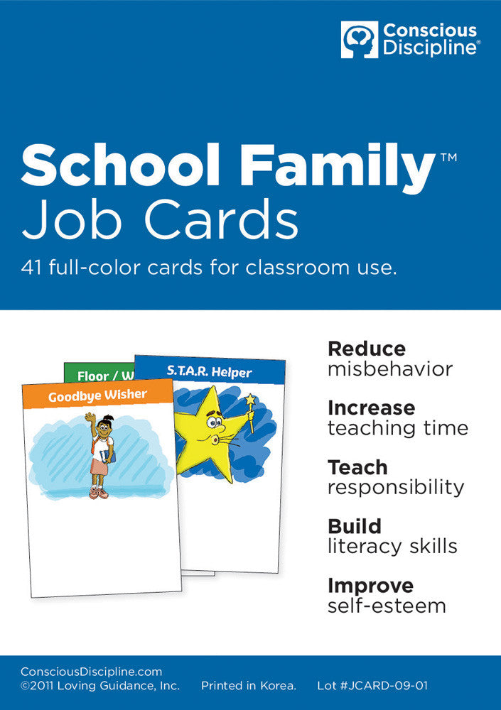 School Family Job Card Replacements