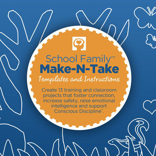School Family Make-N-Take CD-Rom