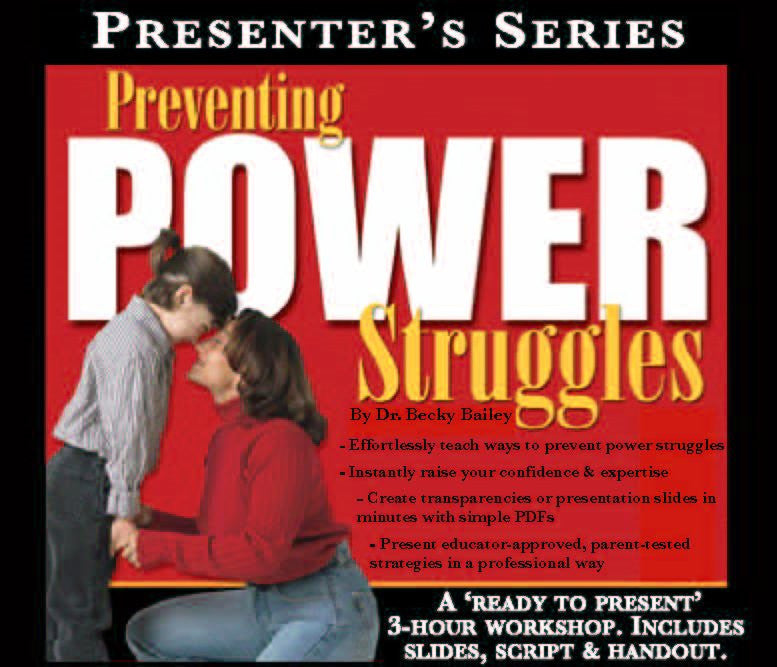 Preventing Power Struggles Presenter's Series