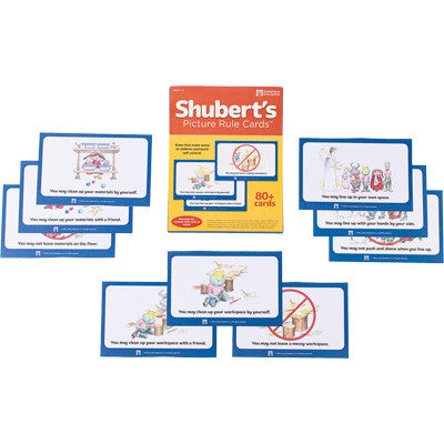 Shubert's Picture Rule Cards
