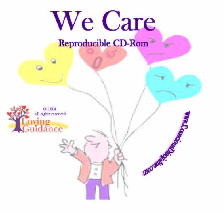We Care Cards Reproducible CD-Rom