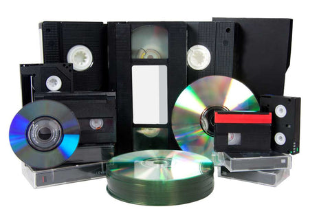 Transfer Video Tape to DVD/Digital
