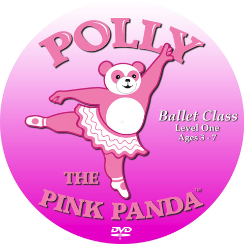 "Polly the Pink Panda™  ""Ballet Class""  Level One Ages 3 to 7"