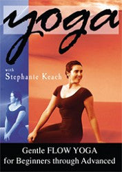 Gentle Flow Yoga DVD by Stephanie Keach