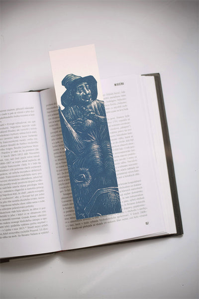 Sancho Panza Bookmarklovers bookmark