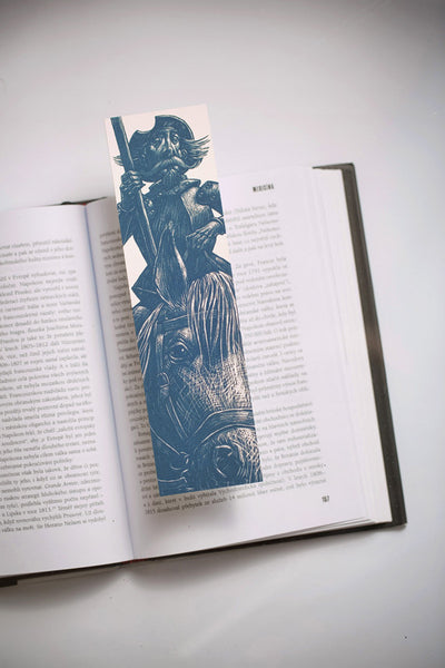 Don Quixote Bookmarklovers bookmark_blue