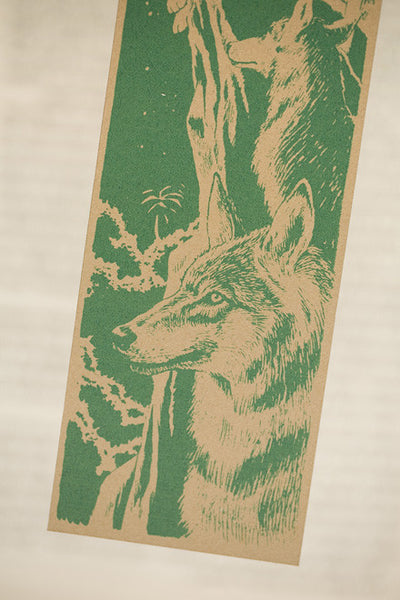 Bookmarklovers_Mowgli_wolves detail green