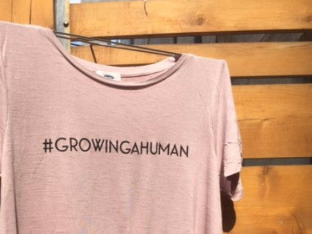 #GROWINGAHUMAN Short Sleeve T-Shirt