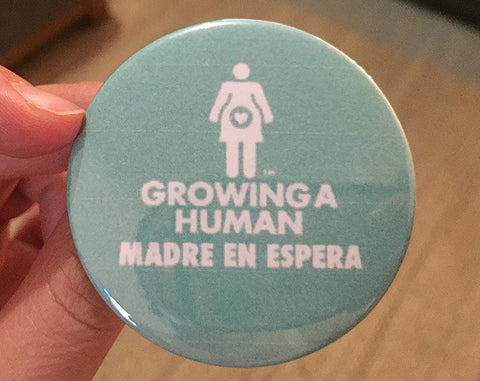 Growing a Human Graphic Pin - Spanish