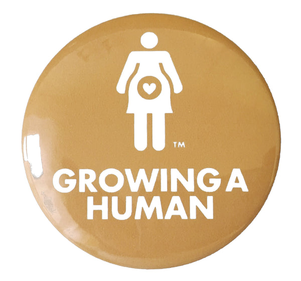 Growing a Human Graphic Pregnancy Pin