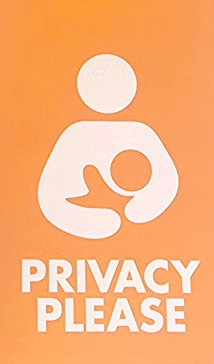 """Privacy Please"" Door Hanger"