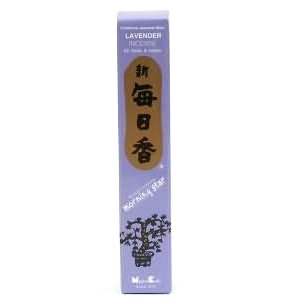 Morning Star Lavender Incense - 4 Packs, 50 Sticks per Pack