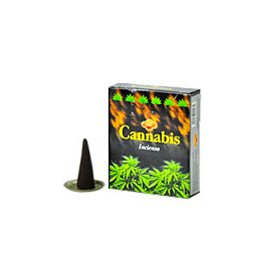Incense SAC Cannabis Cones 4 Packs, 10 Cones per Pack