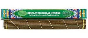 "Himalayan Herbal Tibetan Incense, 10.5"" Length - 3 Packs, 40 Sticks per Pack"