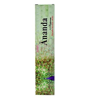 "Nikhil Anand ""Happiness"" Incense - 4 Packs, 15 Grams per Pack"