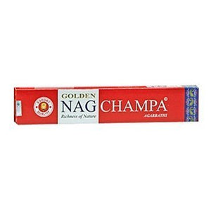 Incense Golden Nag Champ 6 Packs, 15 Gram per Pack