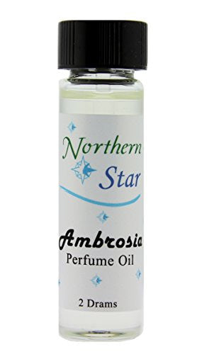 Ambrosia Fragrance - Oils from India - (2 Drams) 7.5 ml size - Compound: Soft Ambergris- type bouquet; our most popular fragrance - Sold Individually - Each bottle has an applicator wand - Approximately 1/4 ounce