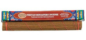 "Tibetan Monastery Incense, 10.5"" Length - 3 Packs, 40 Sticks per Pack"
