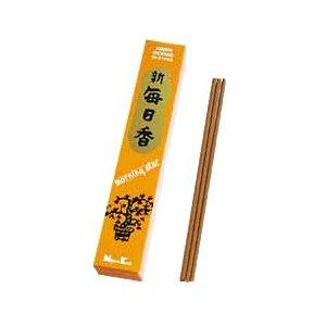 Morning Star Amber Incense - 4 Packs, 50 Sticks per Pack
